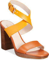 Cole Haan Fenley Strappy Block-Heel Sandals