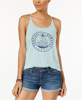 Roxy Juniors' Playa Tropical Graphic T-Back Tank Top