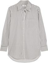 Equipment Daddy striped cotton-poplin shirt