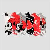 Asstd National Brand 6 Pair Minnie Mouse No Show Socks - Womens