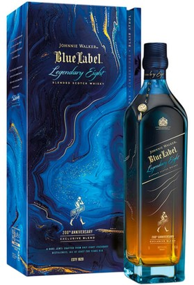 Johnnie Walker Whisky Blue Label Legendary Eight Blended Scotch Whisky