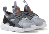 Nike Grey Huarache Run Ultra Infants Trainers