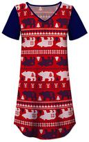Red Bear Nightgown - Women & Plus