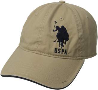 U.S. Polo Assn. Men's Large Solid Horse #3 Adjustable Cap