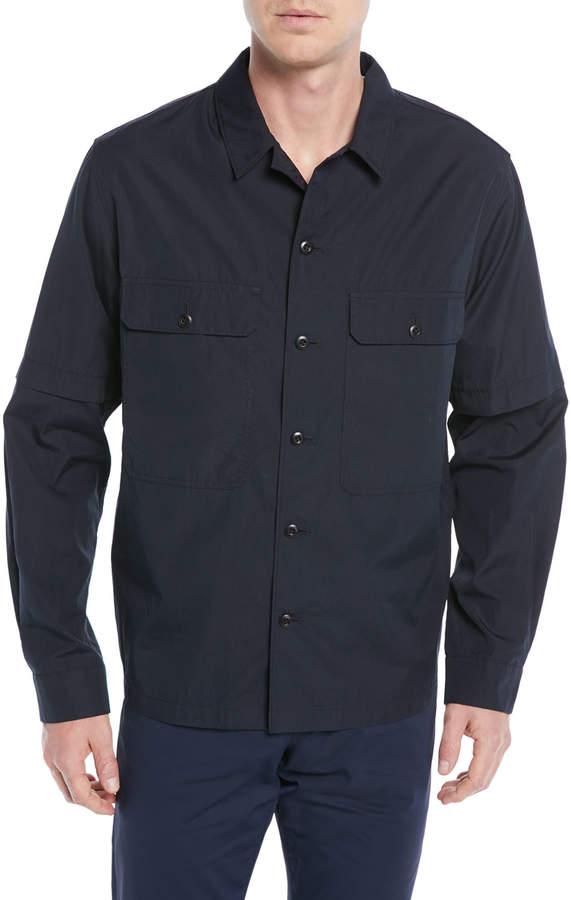 Vince Men's Twill Shirt Jacket