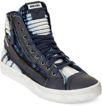 Diesel Indigo D-String Plus High-Top Sneakers