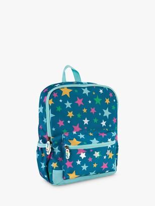 Frugi Children's Star Adventure Backpack, Blue
