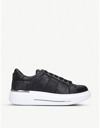 Carvela Jubilate glitter trainers