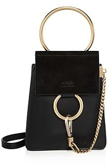 Chloé Faye Mini Leather Bracelet Crossbody