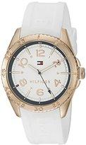 Tommy Hilfiger Women's 1781636 Lizzie Analog Display Japanese Quartz White Watch