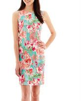 JCPenney Alyx Floral Print Sheath Dress