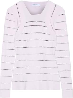 Narciso Rodriguez Pointelle-knit Sweater