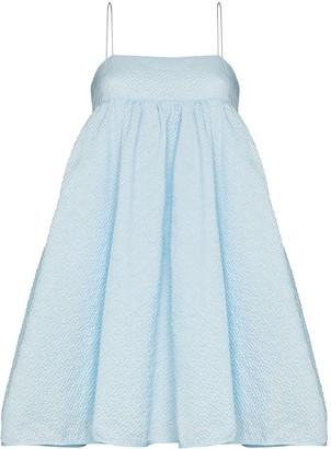 Cecilie Bahnsen Lisbeth cloque-style mini dress