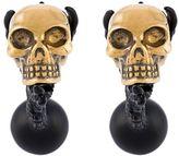 Alexander McQueen talon skull cufflinks
