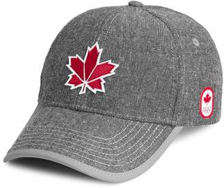 Canadian Olympic Team Collection Adult's Maple Leaf Baseball Cap