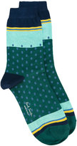 Paul Smith dots socks - women - Cotton/Polyamide/Spandex/Elastane - One Size