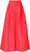 Carolina Herrera wide-leg palazzo pants - women - Silk/Cotton - 6