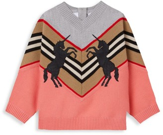 Burberry Baby's & Little Girl's Nadie Unicorn Sweater