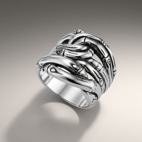 John Hardy BAMBOO COLLECTION Woven Ring