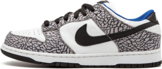 Nike SB Dunk Low Pro 'White Cement' Shoes - Size 9.5