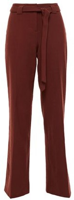 BA&SH Batik Belted Twill Straight-leg Pants