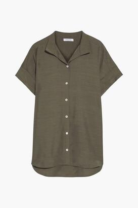 Frame Shantung Shirt