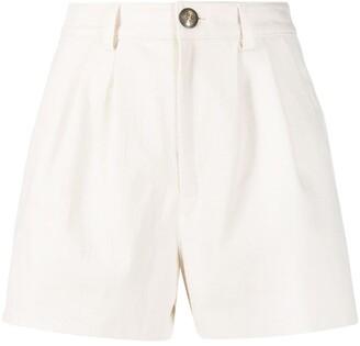 Etro High-Waisted Pleated Shorts