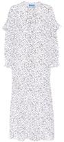 MiH Jeans Erika floral-printed silk dress