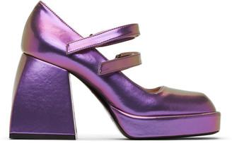 Nodaleto Purple Bulla Babies Heels