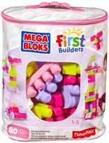 Mega Bloks First Builders Pink Non-Woven (80 pcs)