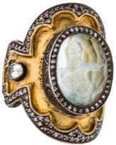 Sevan Biçakci Two-Tone Quartz & Diamond Ring