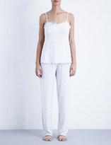 The White Company Rosebud jersey pyjama bottoms