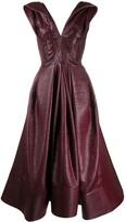 Maticevski Mariposa fit-and-flare dress