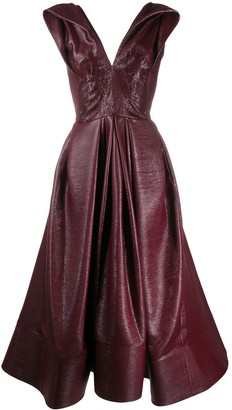 Maticevski Mariposa fit-and-flare dress