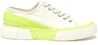 both 'Pro-Tec colourblock back strap rubber panel canvas sneakers