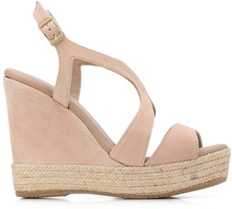 Paloma Barceló Telma 120mm wedge sandals