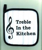 Music Treasures Co. Treble In The Kitchen Potholder