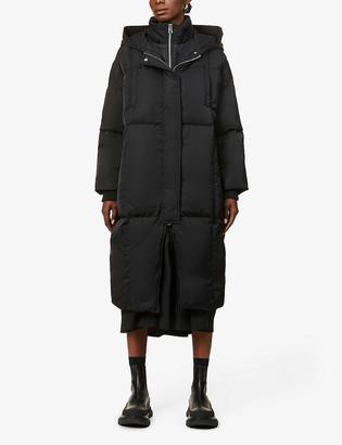 Benetton Padded shell-down puffer coat