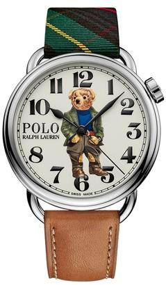 Ralph Lauren 42 MM Bedford Bear Watch