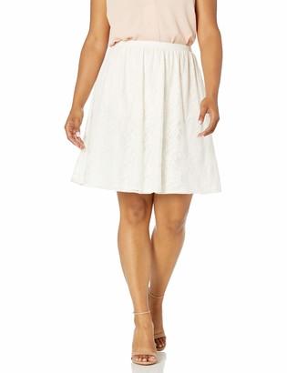 Star Vixen Women's Plus-Size Lace Full Skirt