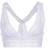 Topshop Two Tone Lace Bralet