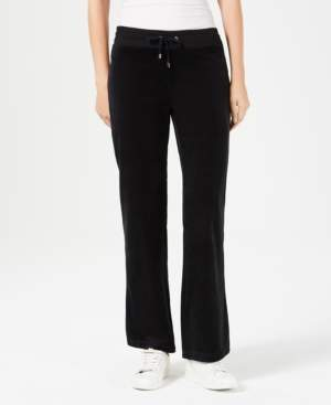 Charter Club Petite Velour Pants, Created For Macy's