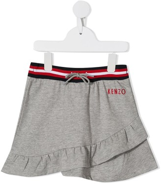 Kenzo Kids Ruffled Mini Skirt