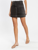 Nude Lucy Eden Utility Skirt in Black