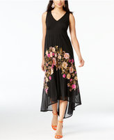 INC International Concepts Petite Floral High-Low Maxi Dress, Created for Macy's