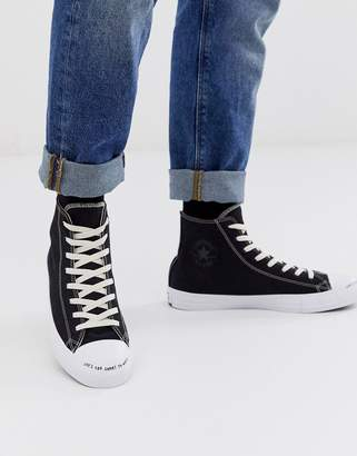 Converse Renew Chuck Taylor All Star trainers in black