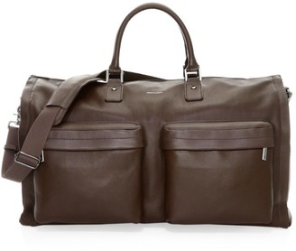 hook + ALBERT Gen 2 Leather Garment Weekender Bag
