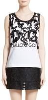 Dolce & Gabbana Women's True Copy Bow Detail Tank