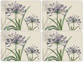 Pimpernel R.H.S. Agapanthus Placemats in Multi (Set of 4)
