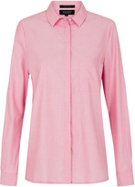 Oxford Tamara Dobby Star Shirt Red X